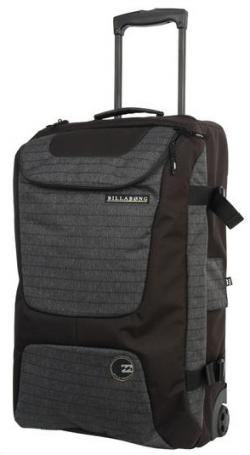 Billabong Elroy Roller Luggage - Black