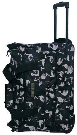 Billabong Sumwhere Time Roller Luggage - Black Flamingo