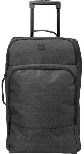Billabong Booster Carry On Luggage - Black Heather