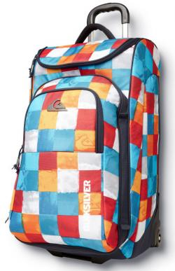 Quiksilver Fast Attack Luggage - Tile Multi