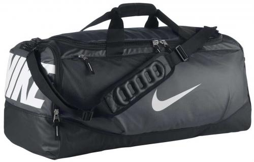 Nike Max Air Team Training Duffle - Black / Grey