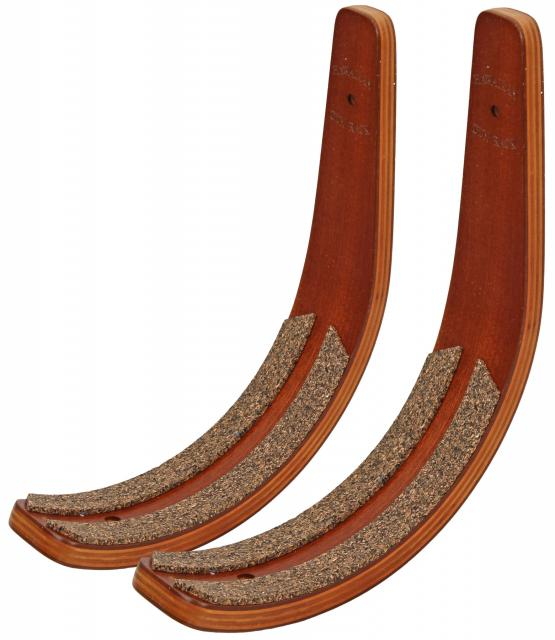 Hawaiian Gun Rack Surfboard Wall Rack - Brunette