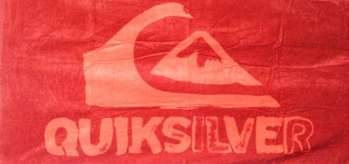 Quiksilver Posted Towel - Red