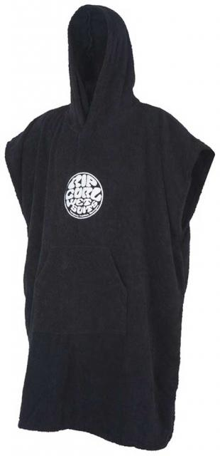 Rip Curl Wet As Hooded Changing Towel - Black