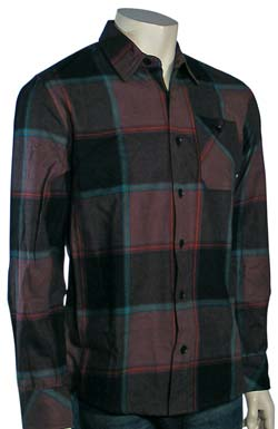 Element Spokane LS Button Down - Brown