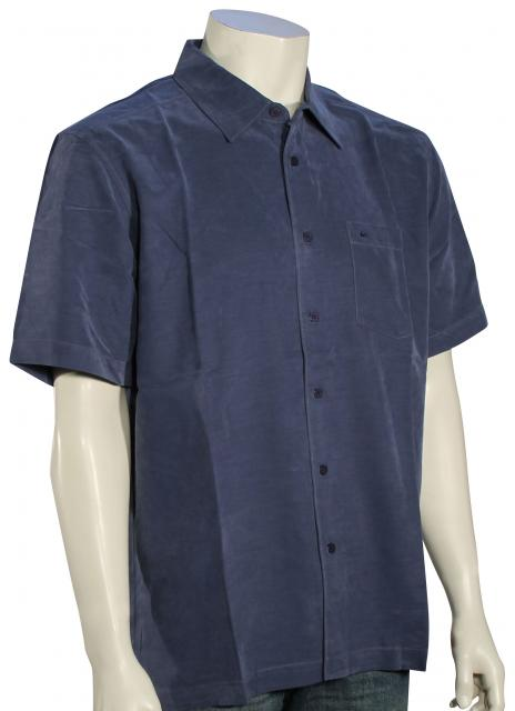 Quiksilver Waterman Clear Days 4 Button Down Shirt - Night