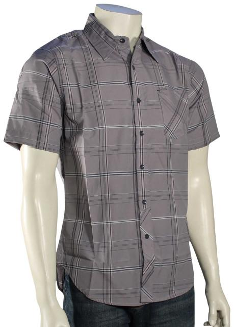 Zoom for Billabong Chazz SS Button Down Shirt - Grey