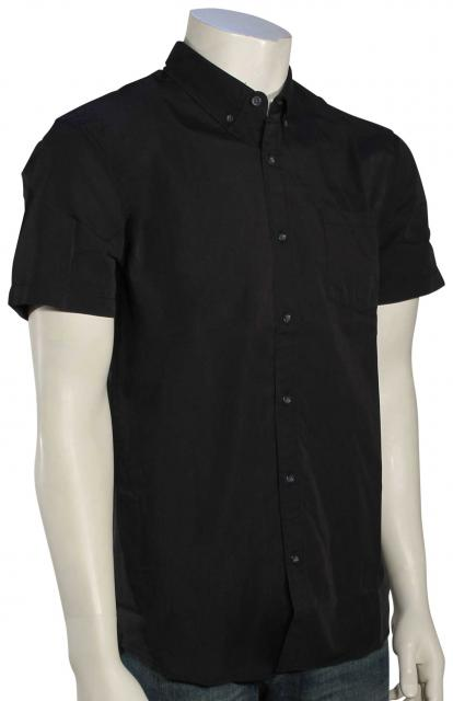 Quiksilver Wilsden SS Button Down Shirt - Tarmac
