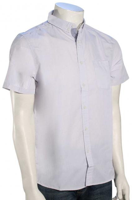 Quiksilver Everyday Wilsden SS Button Down Shirt - Micro Chip