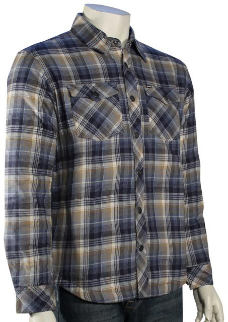 Hurley Fortworth LS Button Down Shirt - True Navy / Multi