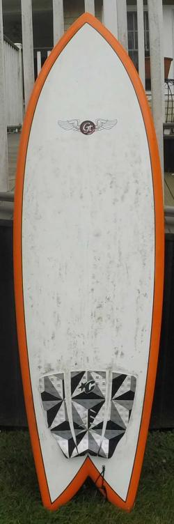 Used gt surftech fish 6 39 2 for sale at for Fish surfboards for sale