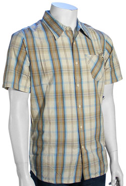 Rip Curl Whisper SS Button Down Shirt - Stone
