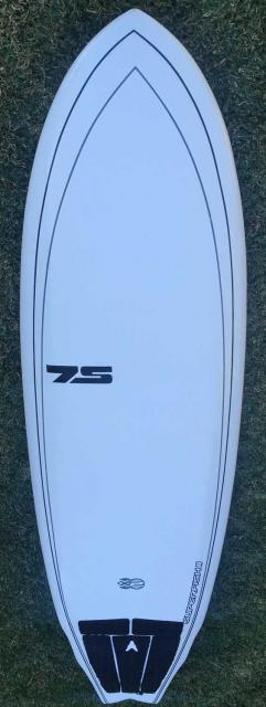 Used 7S Superfish II Surfboard - 6'8
