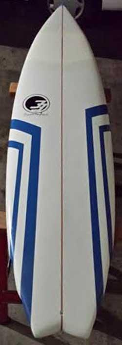 Used degree33 funboard 7 39 for sale at for Fish surfboard for sale