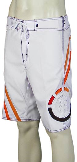 Element Local Stranger Boardshorts - White