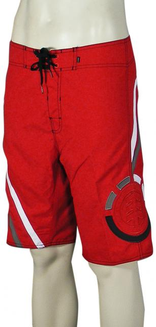 Element Local Stranger Boardshorts - Red