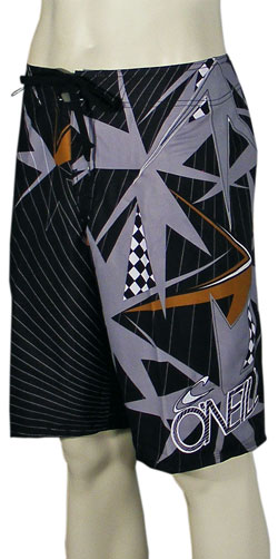 O'Neill Fracture Boardshorts - Black / Gold