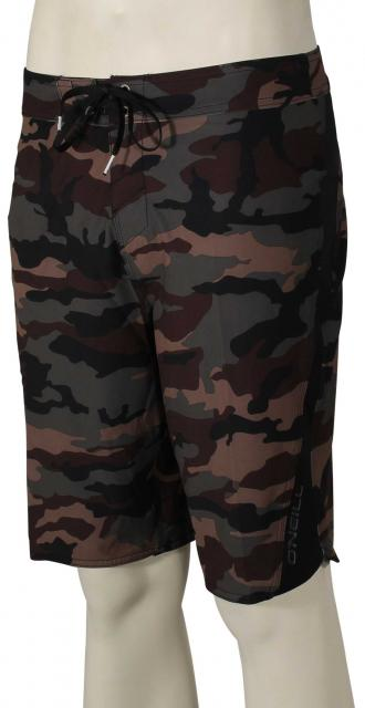 O'Neill Superfreak Scallop Boardshorts - Camo