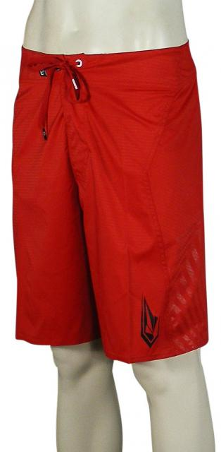 Volcom 3-D Solid Boardshorts - Red