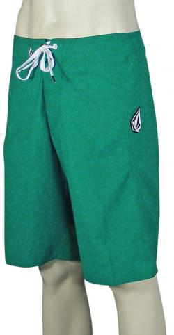 Zoom for Volcom Maguro Solid Boardshorts - Emerald Green