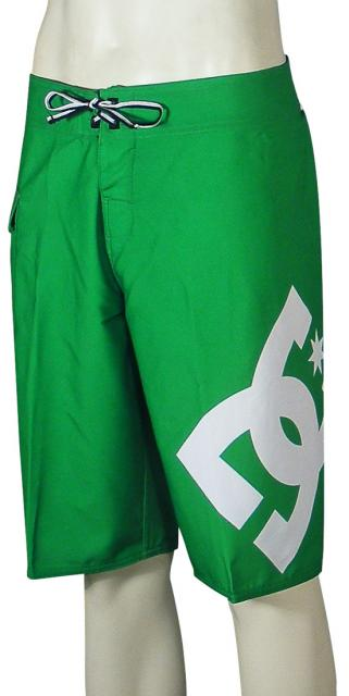 Zoom for DC Lanai Essential Boardshorts - Kelly Green / White