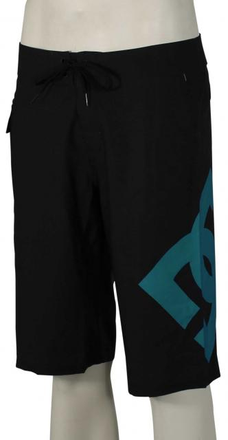 DC Lanai Essential Boardshorts - Black / Algiers Blue