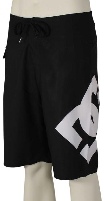 DC Lanai Essential Boardshorts - Black / White