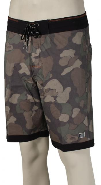 Salty Crew Breaker Camo Boardshorts - Black
