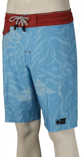 Salty Crew In the Kelp Boardshorts - Light Blue