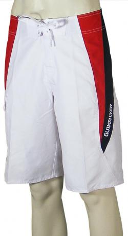 Quiksilver Doggie Door Boardshorts - White