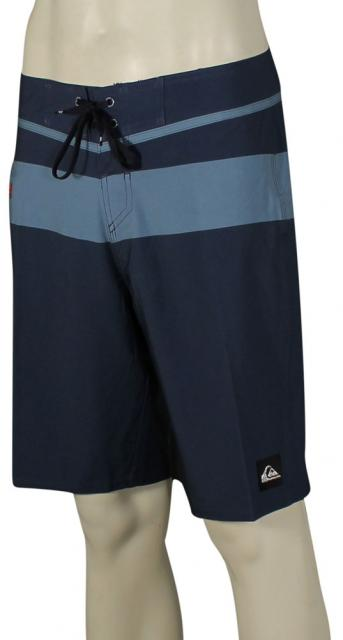 Quiksilver Slater Stripe Boardshorts - Washed Navy