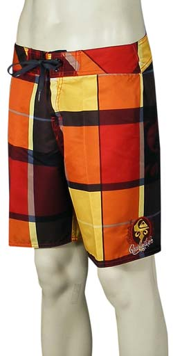 Quiksilver Newport Is Ours Boardshorts - Revolution Red