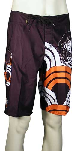 Quiksilver Hakoslam Boardshorts - Dark Brown