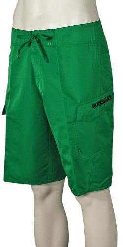 Quiksilver Manic Solid Boardshorts - Green