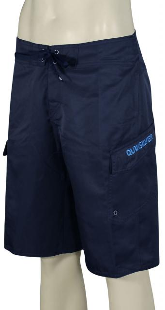 Quiksilver Manic Solid Boardshorts - Navy