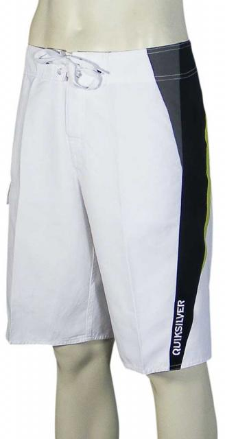 Quiksilver Pig Dog Boardshorts - White / Green