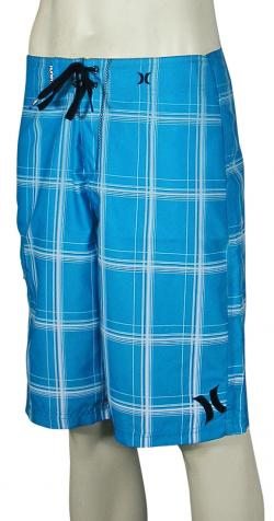Hurley Puerto Rico Blend Boardshorts - Cyan / White