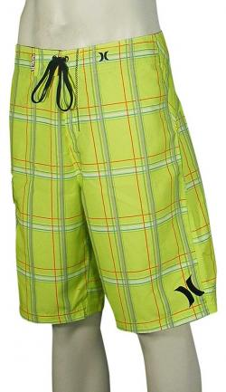 Zoom for Hurley Puerto Rico Boardshorts - Neon Yellow