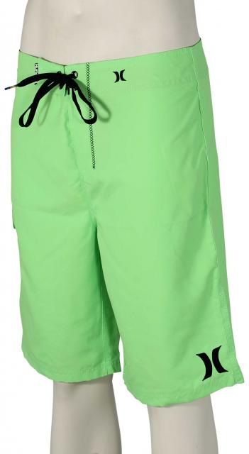 Hurley One and Only Solid Boardshorts - Neon Green