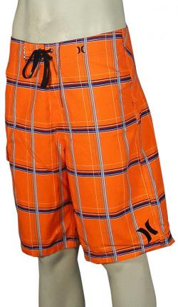 Hurley Puerto Rico Boardshorts - Neon Orange