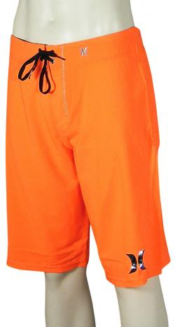 Hurley Phantom 30 Solid Boardshorts - Neon Orange