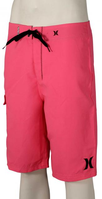 Hurley One and Only Solid Boardshorts - Neon Pink