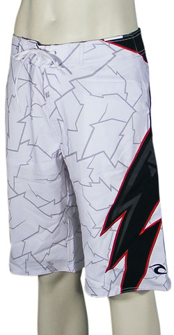 Rip Curl White Lightning Pro Boardshorts - White