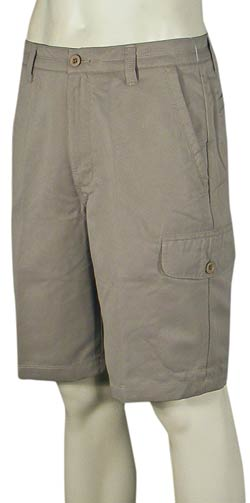 Quiksilver Waterman Maldive Chino Shorts - Cliff Brown