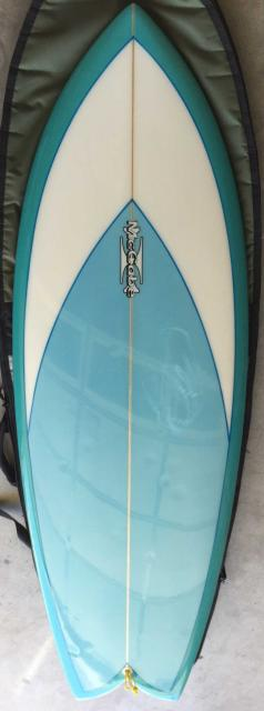 Used McCabe Fish Surfboard - 5'7