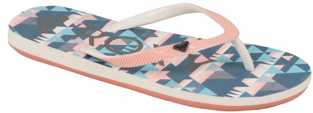 Roxy Girl's Pebbles VI Sandal - Peach Parfait / Sea