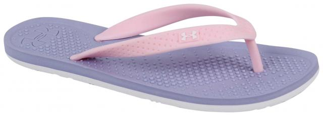 Under Armour Girl's Atlantic Dune Sandal - Chambray Blue / Petal Pink