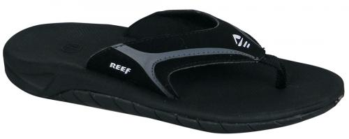 Reef Kid's Slap Sandal - Black / Flash Grey