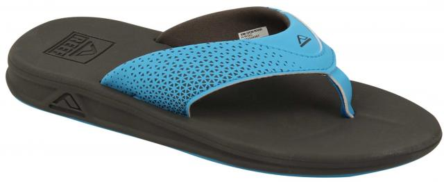 Reef Boy's Grom Rover Sandal - Grey / Blue