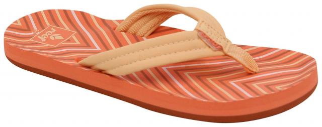 Reef Girl's Little Ahi Sandal - Coral